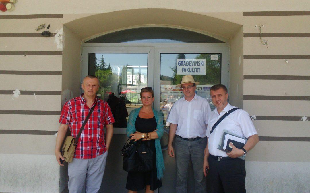 Radno-konsultativna posjeta Građevinskom fakultetu Univerziteta Džemal Bijedić u Mostaru
