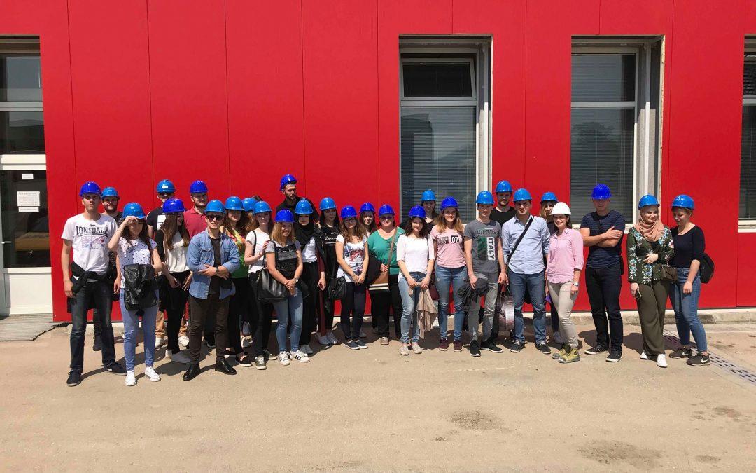 Posjeta studenata kompaniji Širbegović d.o.o. Gračanica