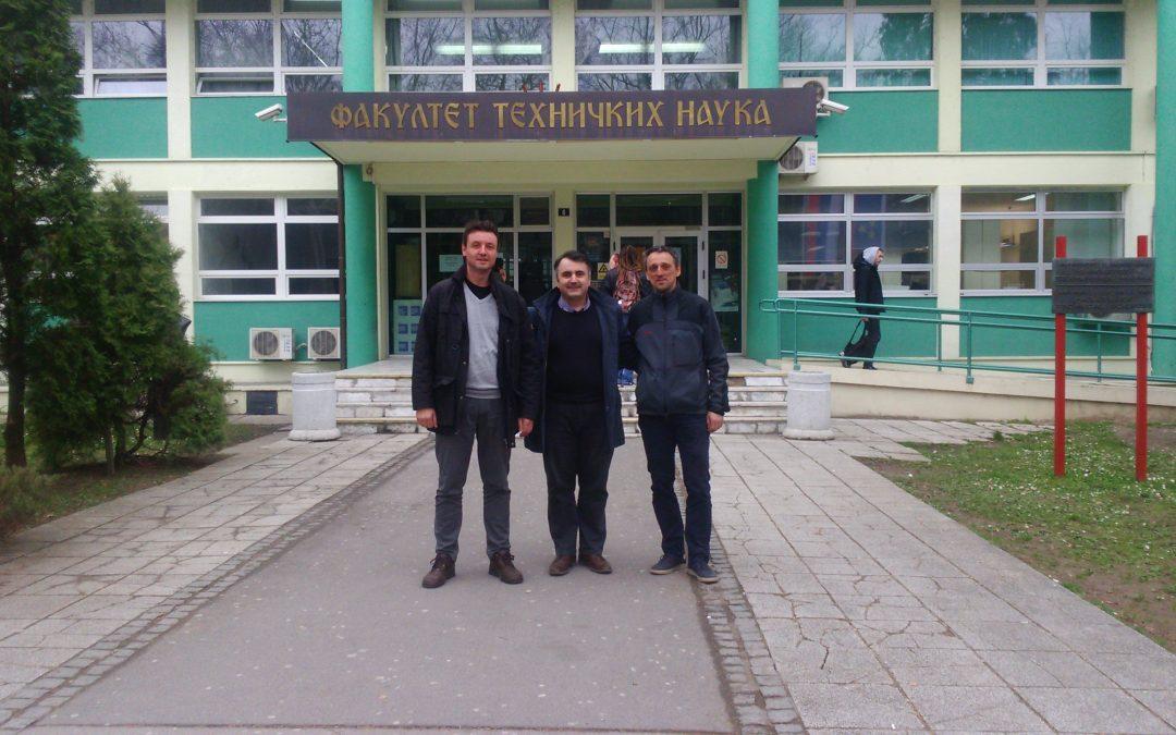 Profesori Politehničkog fakulteta održali predavanja na doktorskom studiju na Fakultetu tehničkih nauka u Novom Sadu