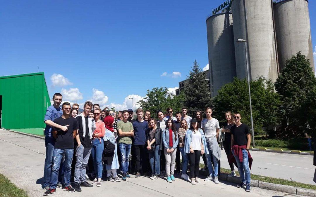 Posjeta studenata Građevinarstva firmama Tvornica cementa Kakanj i IGM Visoko
