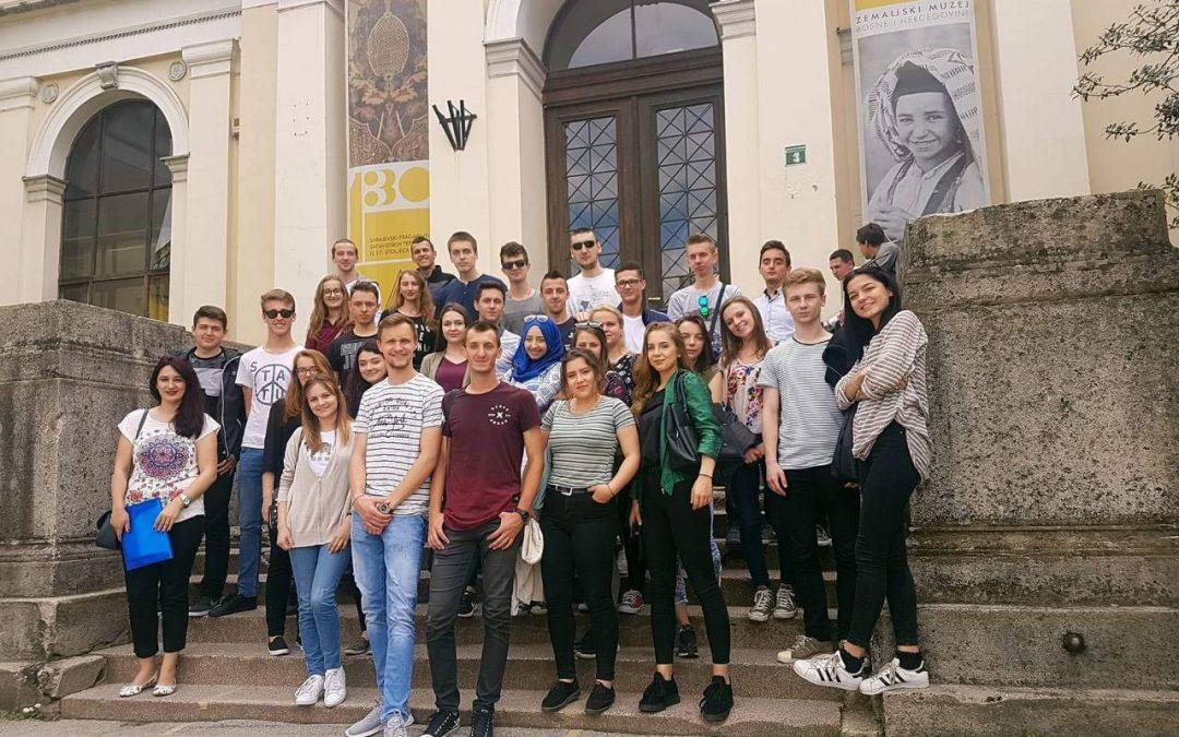 Posjeta studenata Građevinarstva Zemaljskom muzeju u Sarajevu