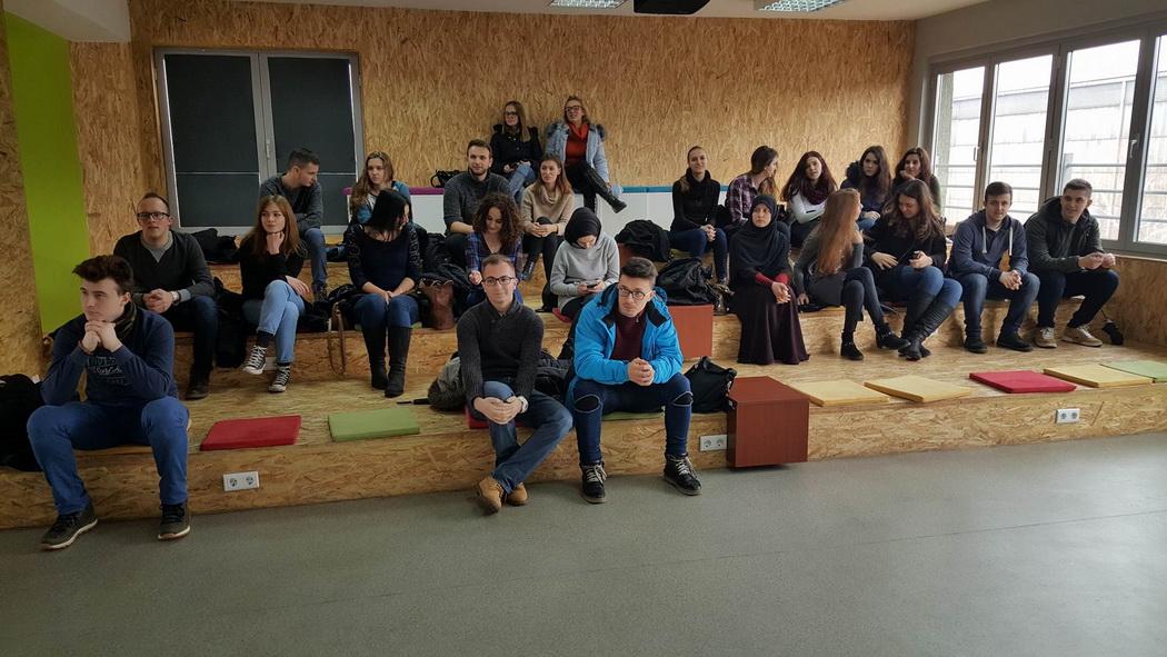 Posjeta studenata Politehničkog fakulteta Laboratoriji LIND i Impulsnom kreativnom centru