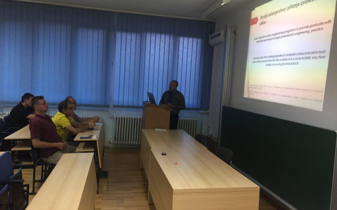 Održana pristupna predavanja budućih nastavnika na odsjeku Softversko inženjerstvo