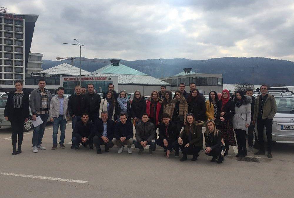 "Studenti Odsjeka Građevinarstvo na konferenciji ""Tehnologija betona"""