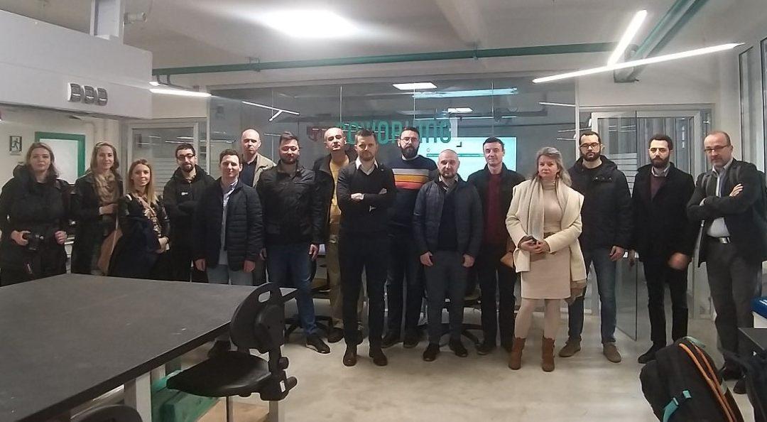 Studijska posjeta laboratorijama u Italiji