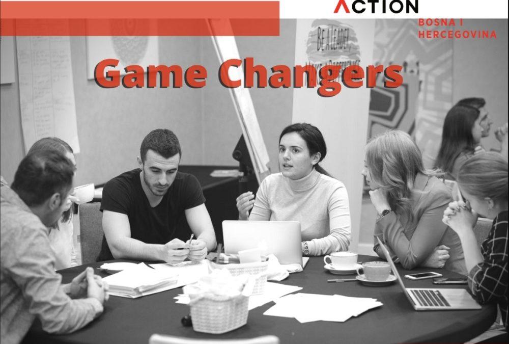 Humanity in Action Bosna i Hercegovina objavljuje poziv za dostavljanje prijava za učešće u projektu GAME CHANGERS