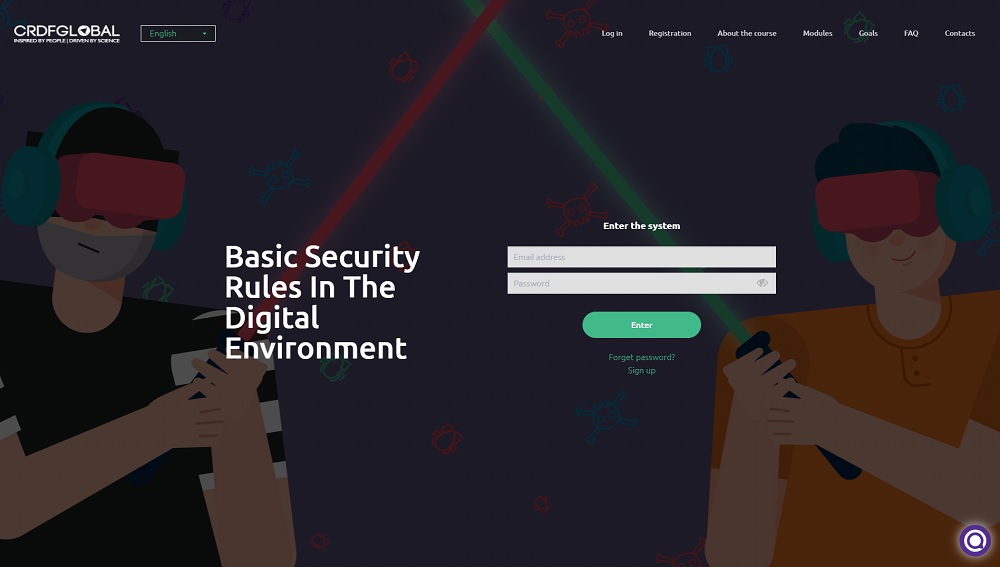 Free E-learning course: Basic Security Rules In The Digital Environment